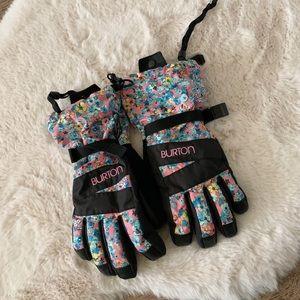 Burton floral gloves